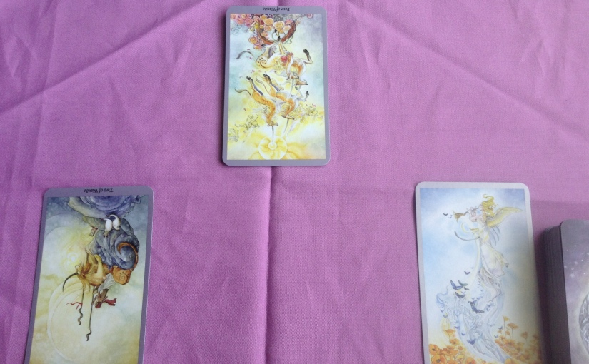 Card of the Day with Commentary – Four of Wands, Two of Wands, Judgement